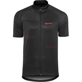 Gonso Mocco Maillot de cyclisme Homme, black